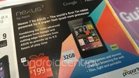 Nexus 7: 32 GB-Modell kommt für 199 Pfund nach UK