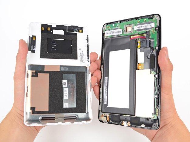 Nexus 7: Von iFixit in seine Einzelteile zerlegt