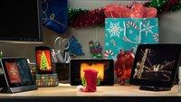 Nexus-Docks: In weihnachtlicher Android-Videobotschaft gesichtet