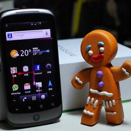 Nexus One: Gingerbread-Update für Geräte mit Vodafone-Branding