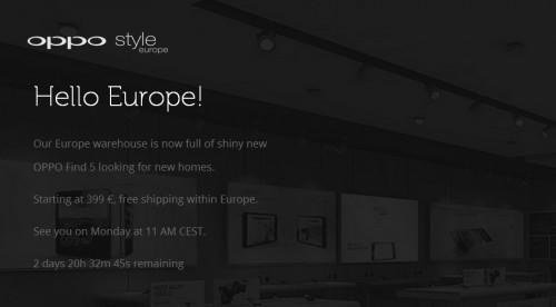 OPPO-Europe-Webstore
