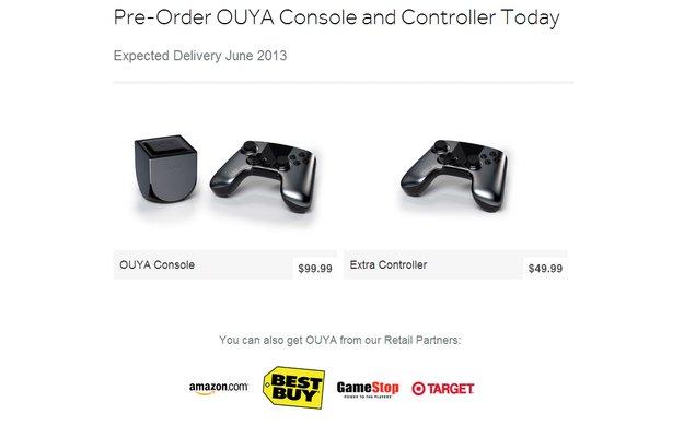 OUYA: Android-Spielkonsole ab Juni für 100 Dollar im Handel