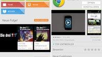 Google Play Store: Neue Version mit kleinen UI-Verbesserungen [Download]