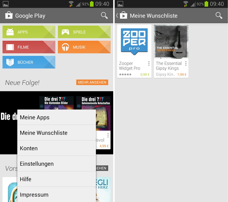 google play store neue version mit kleinen ui verbesserungen giga. Black Bedroom Furniture Sets. Home Design Ideas