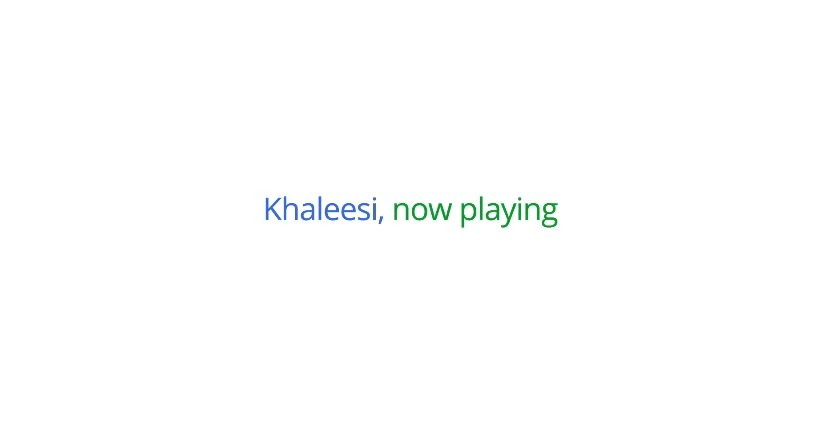 Game of Thrones: Khaleesi nutzt Google Play [Video][Spoiler]