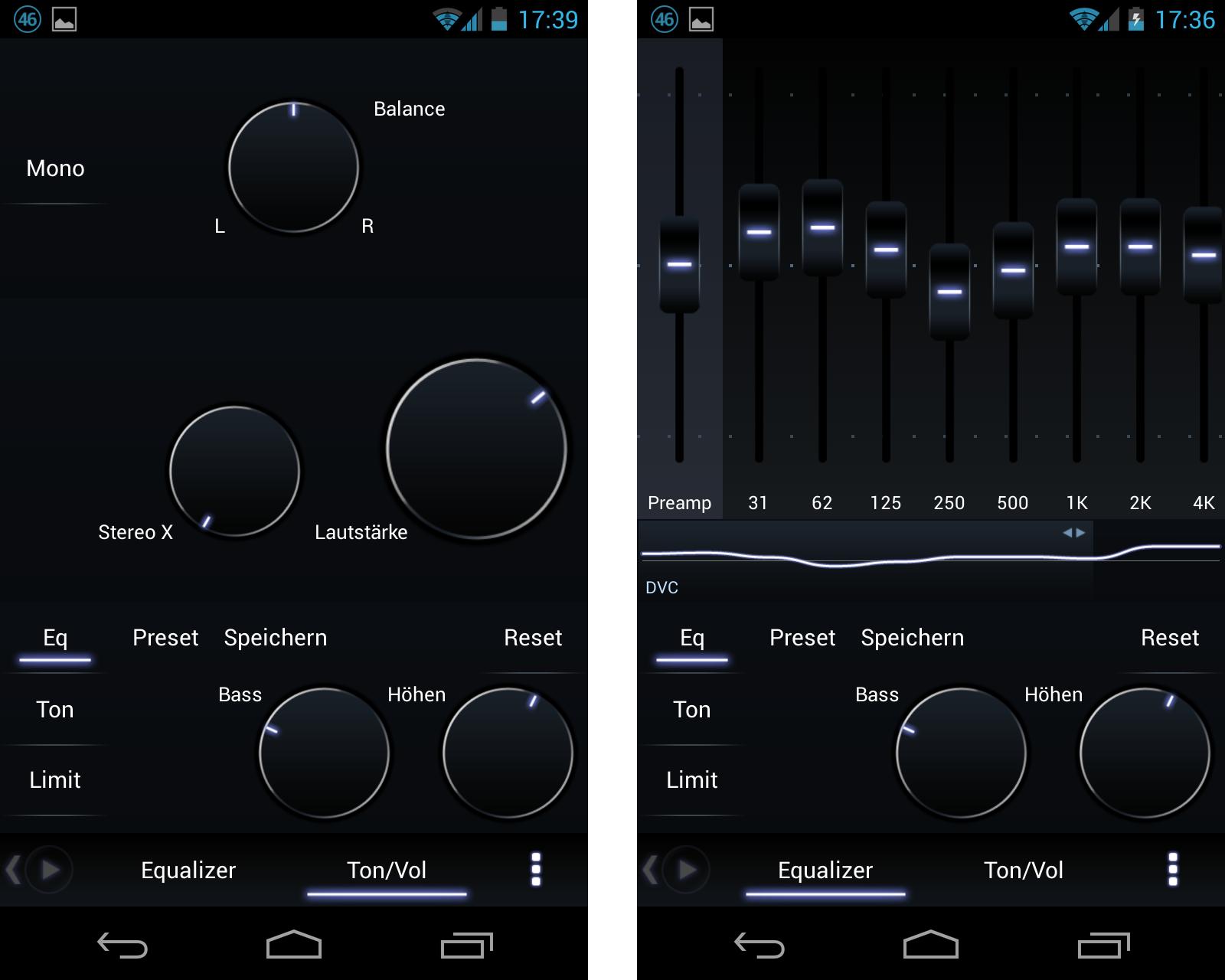 Poweramp Mächtiger MP18 Player für Android im Test