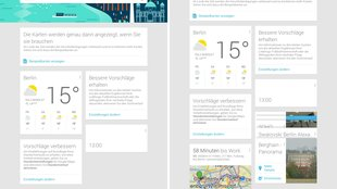 Google Now: Info-Karten bald auch im Chrome-Browser?