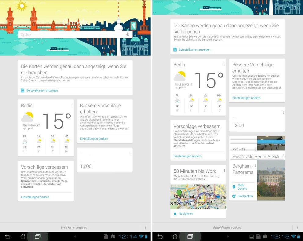 Google Now: Info-Karten bald auch im Chrome-Browser?
