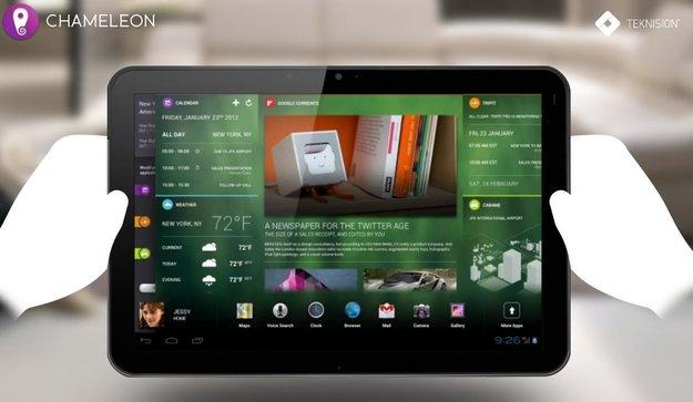 Project Chameleon: Schicke Benutzeroberfläche für Android-Tablets