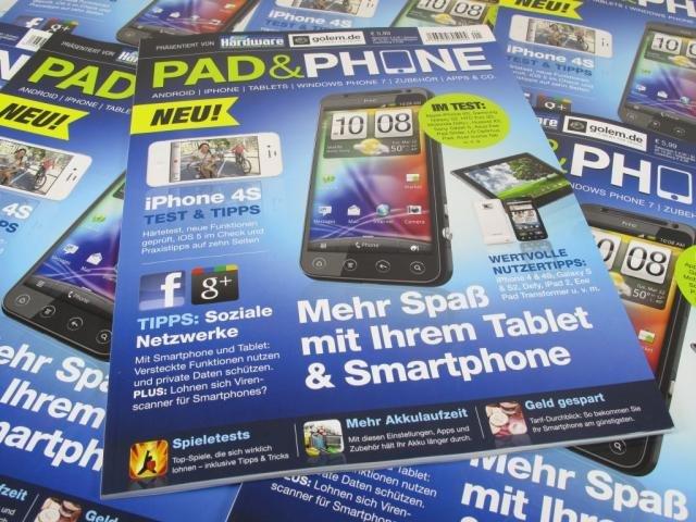 Pad &amp&#x3B; Phone: PC Games veröffentlicht Smartphone -und Tablet-Magazin