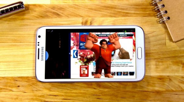 Gesponsertes Video: Mit Wreck-it Ralph ein Galaxy Note 2 gewinnen