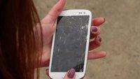 Samsung Galaxy S3: Falltest-Vergleich mit dem iPhone 4S