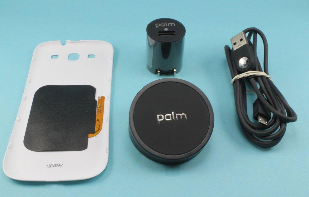 Samsung Galaxy S3: Induktionsladung per Palm-Touchstone-Mod