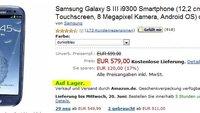 Samsung Galaxy S3: Blaue Variante jetzt bei Amazon lagernd