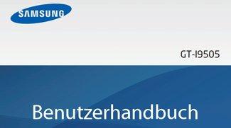 Samsung Galaxy S4: Benutzerhandbuch im PDF-Format ist da