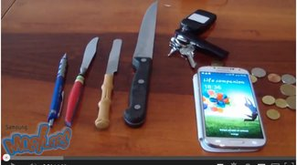 Samsung Galaxy S4: Gorilla Glass 3 besteht Kratztest [Video]