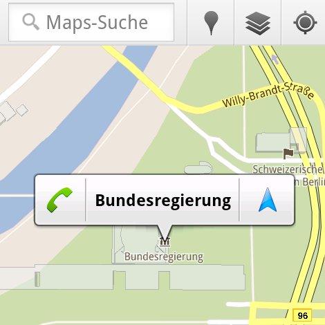 """Google Maps-Update: Verbesserte Navigation und """"Bubbles"""""""