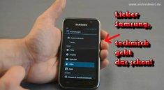 Samsung Galaxy S: Kein Android 4.0-Upgrade, Samsung erklärt sich