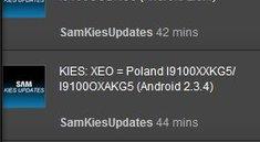 Samsung rollt Android 2.3.4 für das Galaxy S 2 via KIES aus