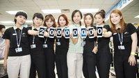 Samsung Galaxy S3: 20 Millionen verkaufte Geräte in 100 Tagen