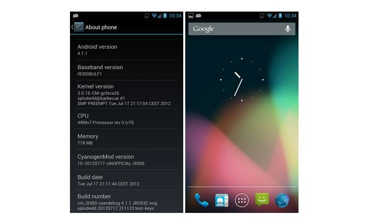 Samsung Galaxy S3: CyanogenMod 10-Preview bringt Jelly Bean