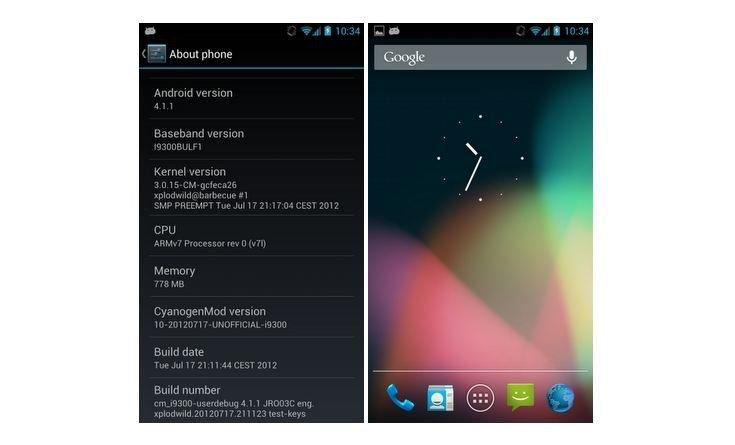 Samsung Galaxy S3: CyanogenMod 10-Preview bringt Jelly Bean