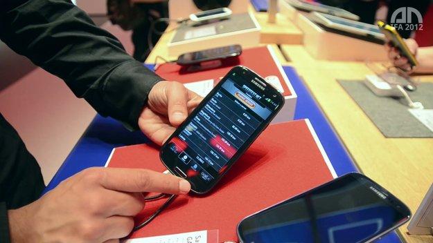 Samsung Galaxy S3 LTE: Hands-On des Vodafone-4G-Models [IFA 2012]