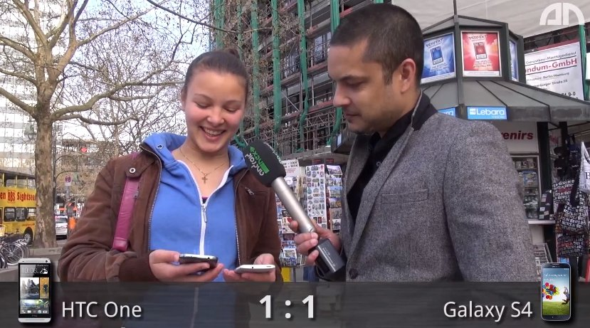Samsung Galaxy S4 vs. HTC One: Dit sagt Berlin