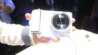 Samsung Galaxy Camera: Hands-On mit dem Mix aus Smartphone und Kompaktkamera [IFA 2012]