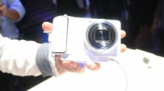 Samsung Galaxy Camera: Hands-On mit dem Mix aus Smartphone und Kompaktkamera [IFA 2012]