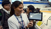 Samsung Galaxy Note 10.1: Integrierter Stifthalter an Bord