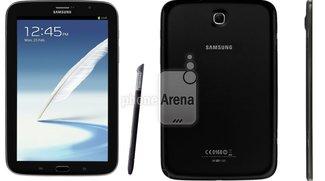 Samsung Galaxy Note 8.0: In Kohlrabenschwarz gesichtet