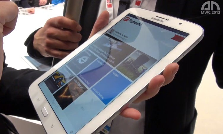 Samsung Galaxy Note 8.0: Hands-On und Interview [MWC 2013]