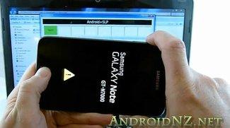 Samsung Galaxy Note: Jetzt mit Root-Zugriff und ClockworkMod