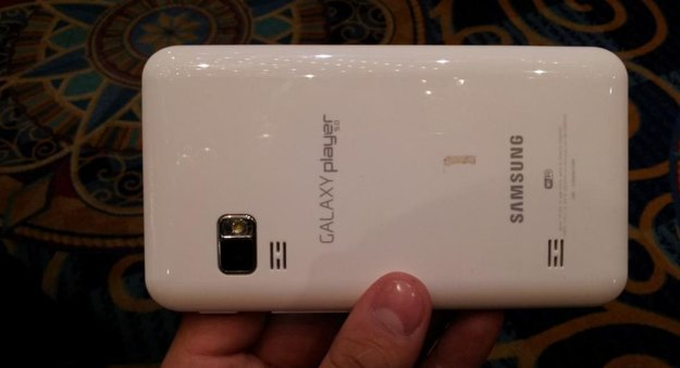 Samsung Galaxy S Wifi 5.0: Android-Mediaplayer im Hands On-Video