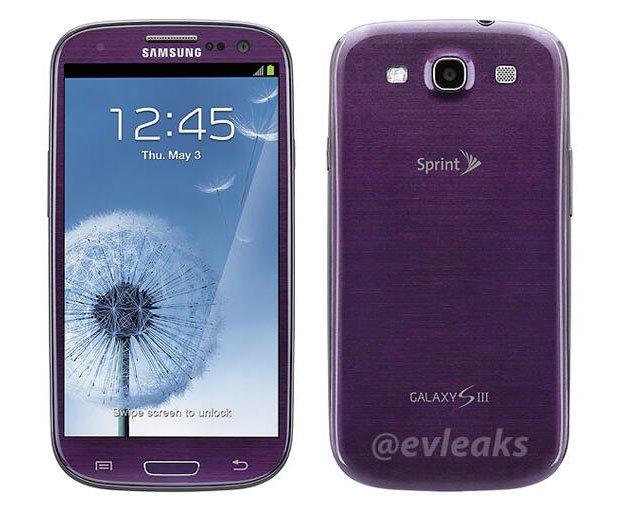 Samsung Galaxy S3: Lila Farbvariante für die USA angekündigt