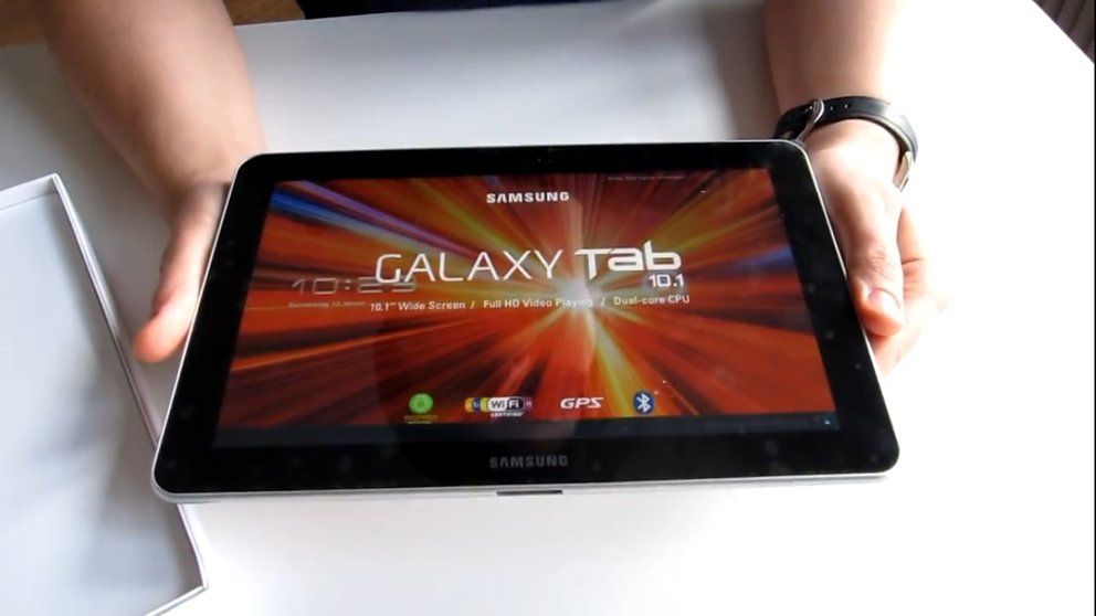 Samsung Galaxy Tab 10.1: Test des Android-Tablets, das ein iPad-Klon sein soll