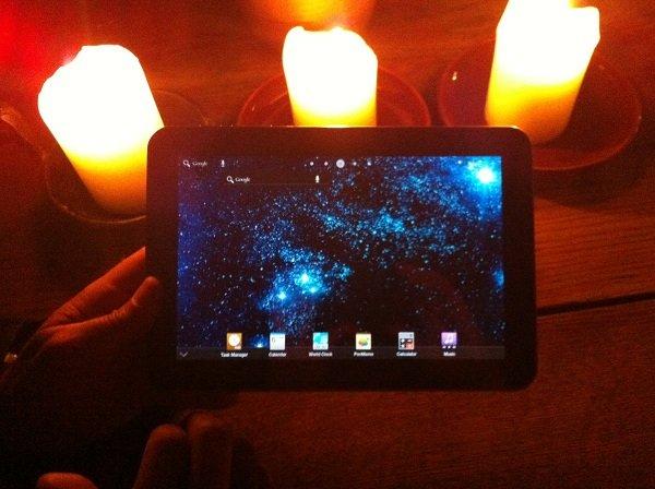 Bilder und Video zum Samsung Galaxy Tab 8.9 aus Tallinn