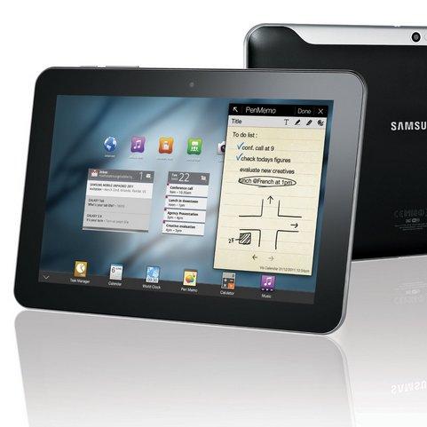 Samsung Galaxy Tab 8.9: Überraschung -  es kommt später
