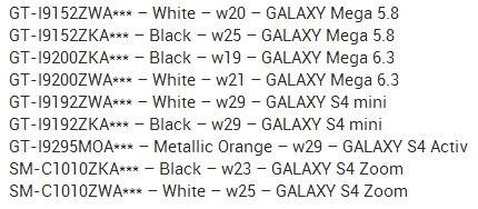 Samsung-S4-Derivate-Releases