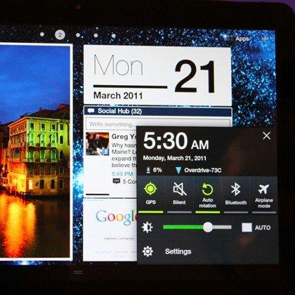"""Samsung Galaxy Tab 10.1: TouchWiz-Update kommt """"bald"""""""