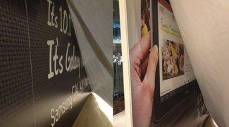 Samsung Galaxy Note 10.1: Gesichtet, so gut wie sicher [MWC 2012]