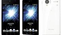 Sharp AQUOS 102SH: Wasserfestes Smartphone mit 3D HD-Display