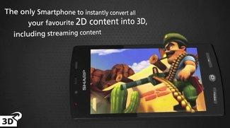 Sharp Aquos Phone SH80F: 3D-Smartphone nur heute für 399 Euro [Deal]