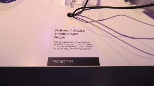 Sony Walkman Prototyp