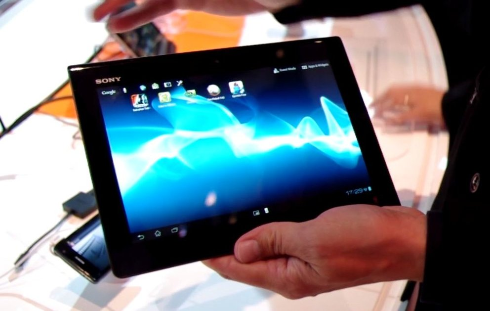 Sony Xperia Tablet S: Hands-On-Video zum Sony Tablet S-Nachfolger [IFA 2012]