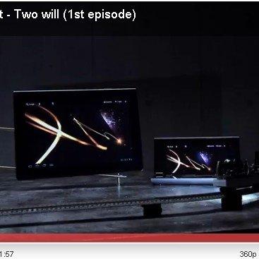 Sony teasert S1- und S2-Tablets mit stimmungsvollem Video