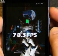 LG Optimus Speed im Benchmark-Video