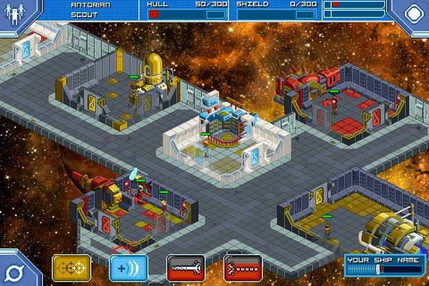 Star Command: Captain Kirk-Simulation im Pixellook ab Juni für Android