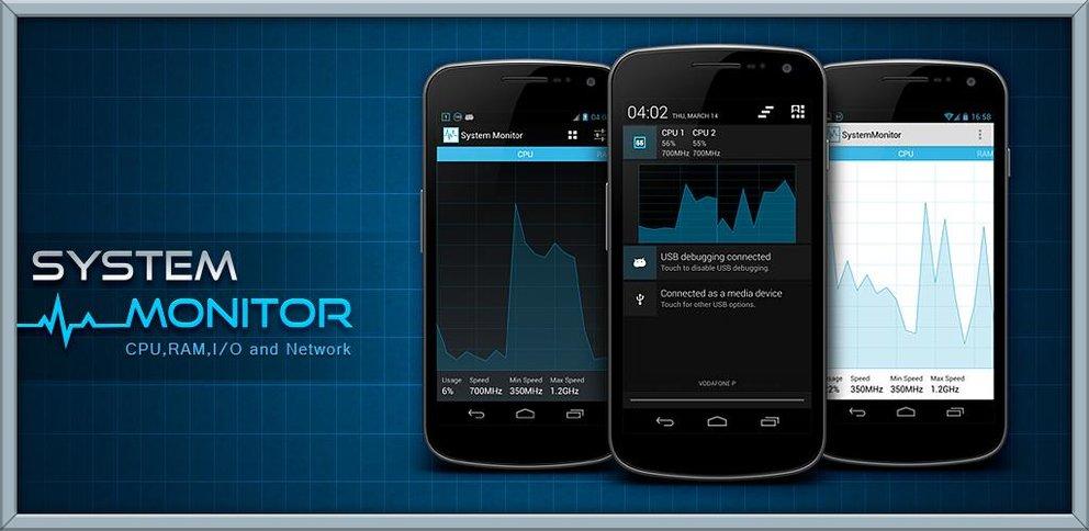 System Monitor: Überwachen, was das Smartphone so treibt